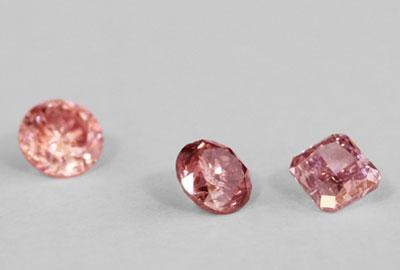 貴重なピンクダイヤモンド