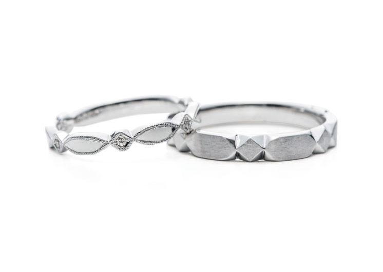 アンティークタイルモチーフの指輪言葉のあるエルドーセレクトブランドアフラックス/AFFLUX『テゾーロ/わたしの宝物』