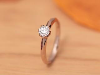花のようなアンティークな結婚指輪(婚約指輪)エルドーセレクトブランド『カツキ』
