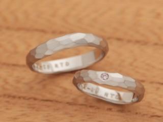 アンティークな結婚指輪(婚約指輪)エルドーセレクトブランド『カツキ』