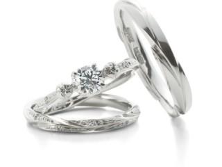 アンティーク調の結婚指輪(婚約指輪)エルドーセレクトブランド『アフラックス』