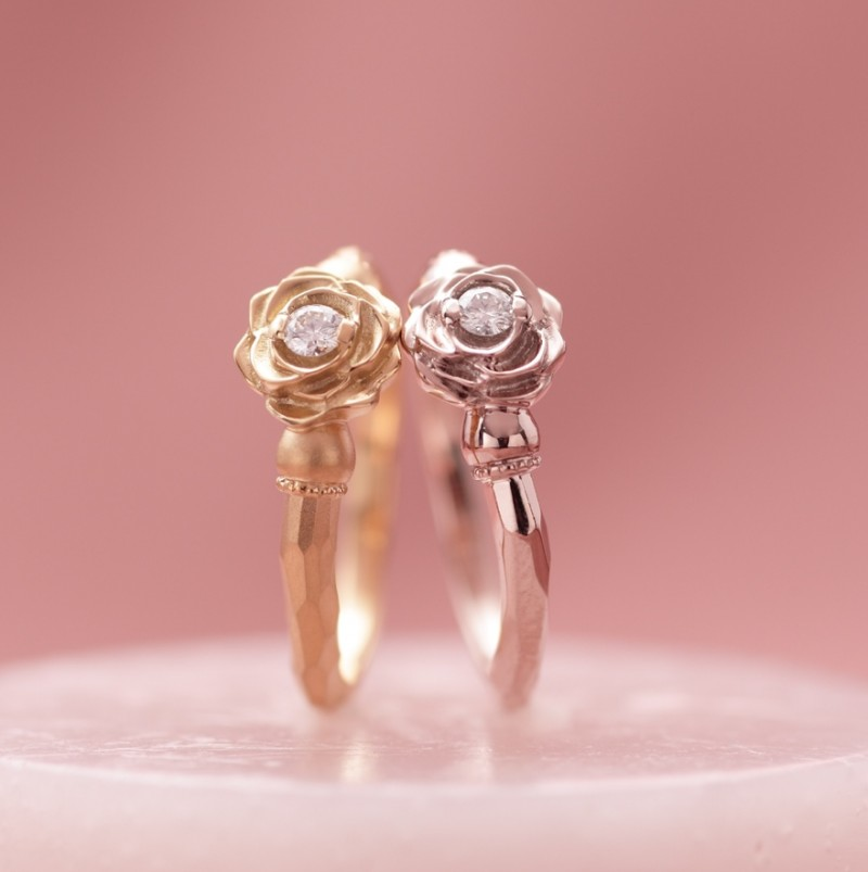 薔薇の花のイメージのエルドーセレクトブランドカツキ/KATSUKI『ローズ/薔薇』