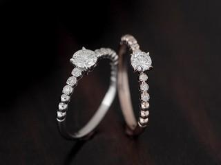 エタニティーのアンティークな結婚指輪(婚約指輪)エルドーセレクトブランド『カツキ』