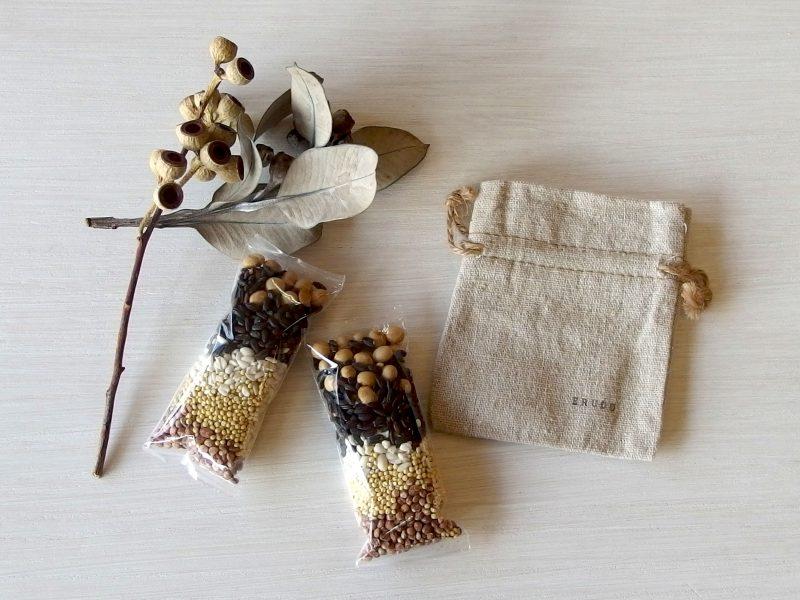 岡山県産使用の五穀米