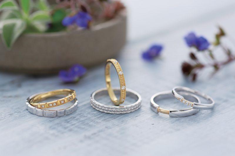 続いては、結婚指輪2本セレクトセットより