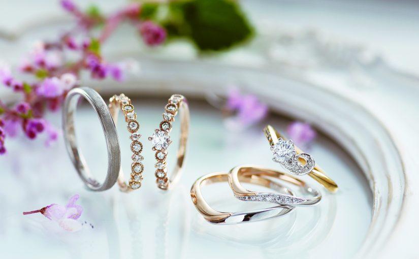 世界でたったひとつの婚約指輪と結婚指輪