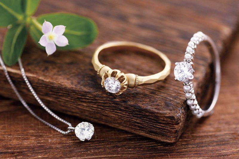 縦爪の婚約指輪をリフォームしましょう!