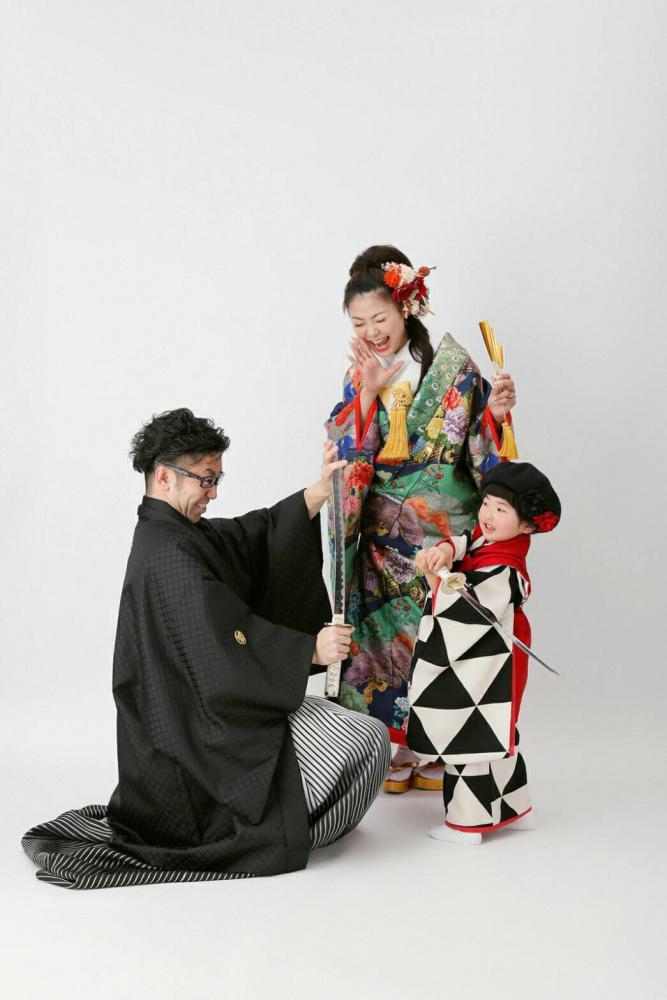 三重県の辻様ご家族記念写真