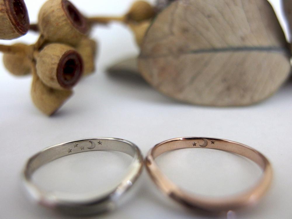 エルドーセレクトブランドの結婚指輪『KATSUKI/カツキ』