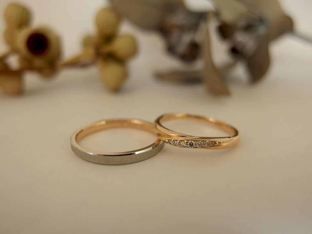 エルドーセレクトブランドの結婚指輪『ロゼ・マリアージュ』