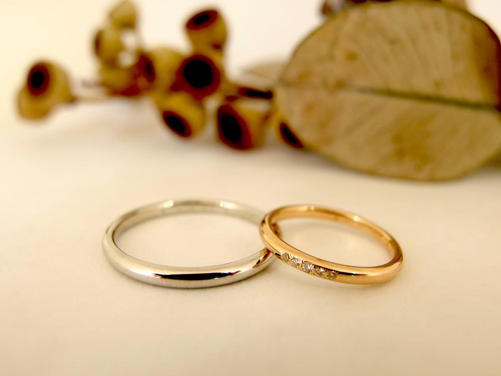 エルドーオリジナルの結婚指輪『メリア』