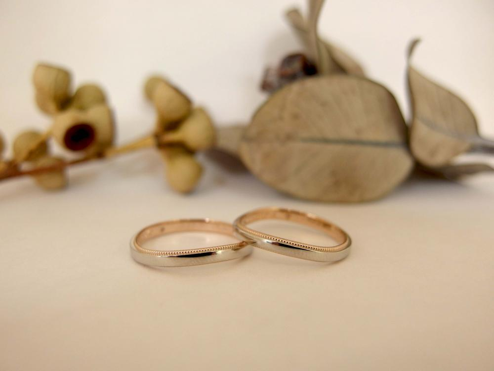 エルドーセレクトブランドの結婚指輪『マリエ・マリ』