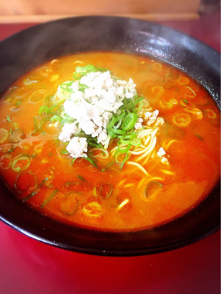 福山市手城町の「八福神」の坦々麺