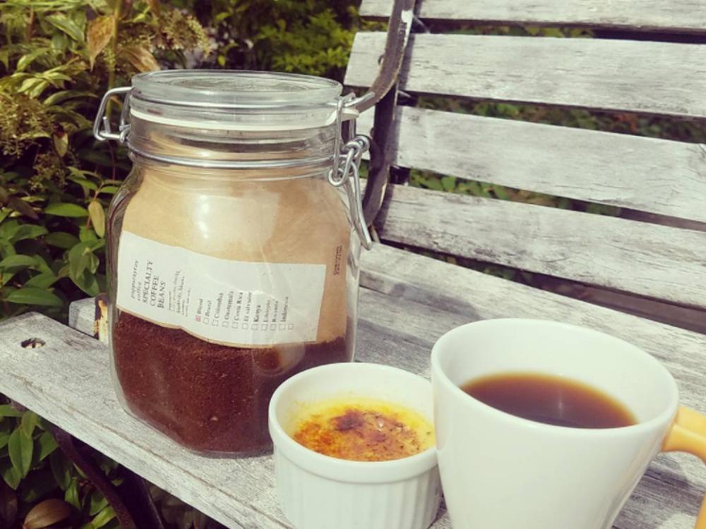 美味しいコーヒーとブリュレ♡