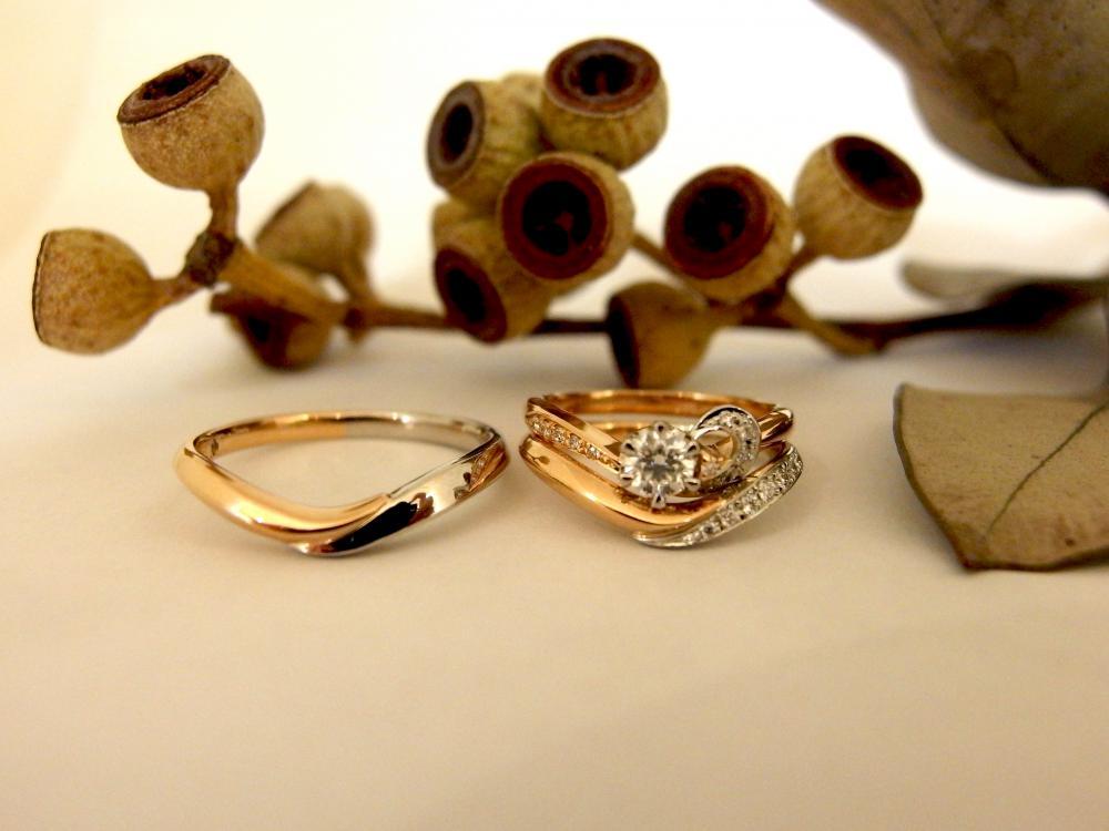エルドーオリジナル結婚指輪『メリア』