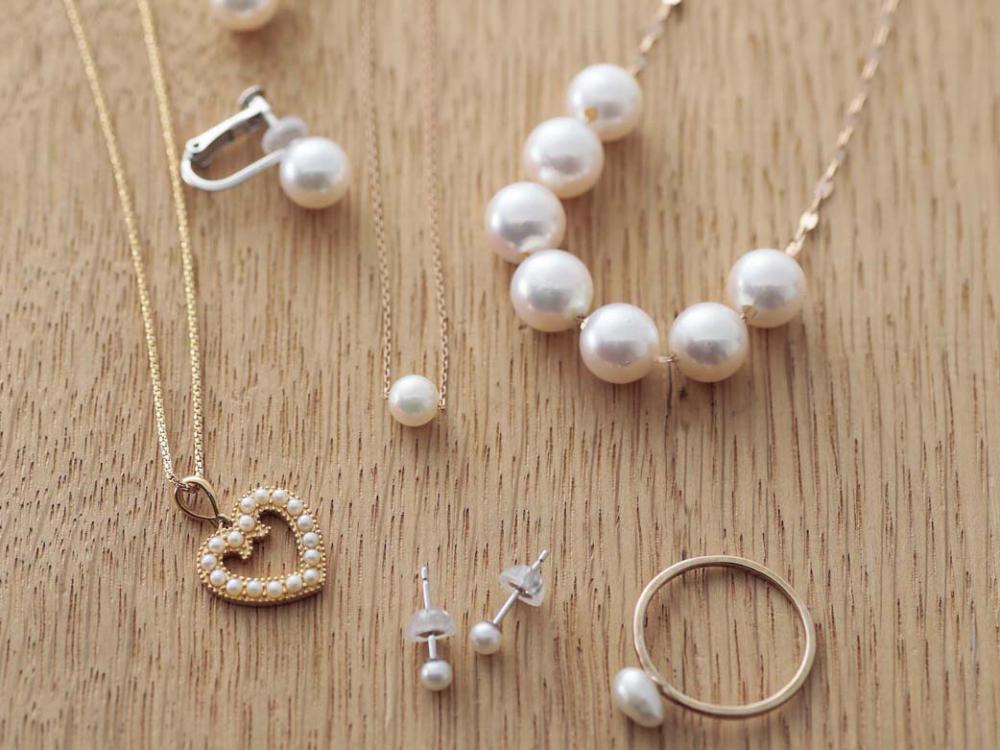 酸・熱や水に弱いデリケートな真珠