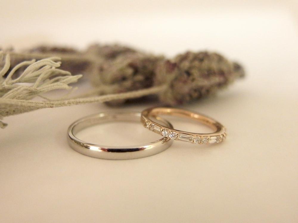 エルドーオリジナルの結婚指輪『ル・ミュジック』