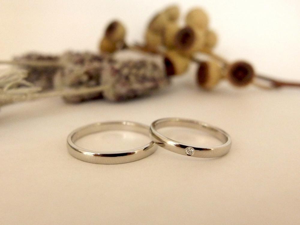 エルドーセレクトブランドシチズンの結婚指輪『ノクル』