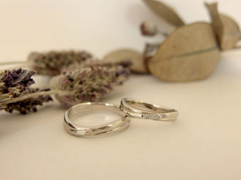 エルドーセレクトブランドの結婚指輪『カツキのレスペ』