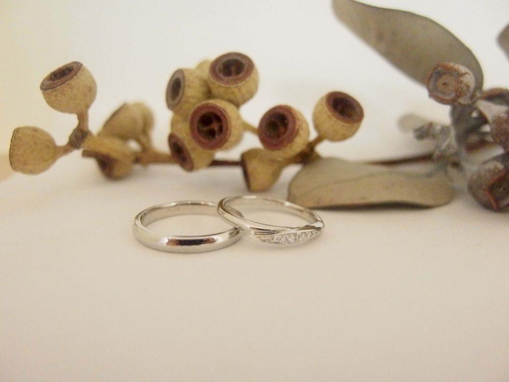 エルドーオリジナルブランド『メリア・ルミュジック』の結婚指輪