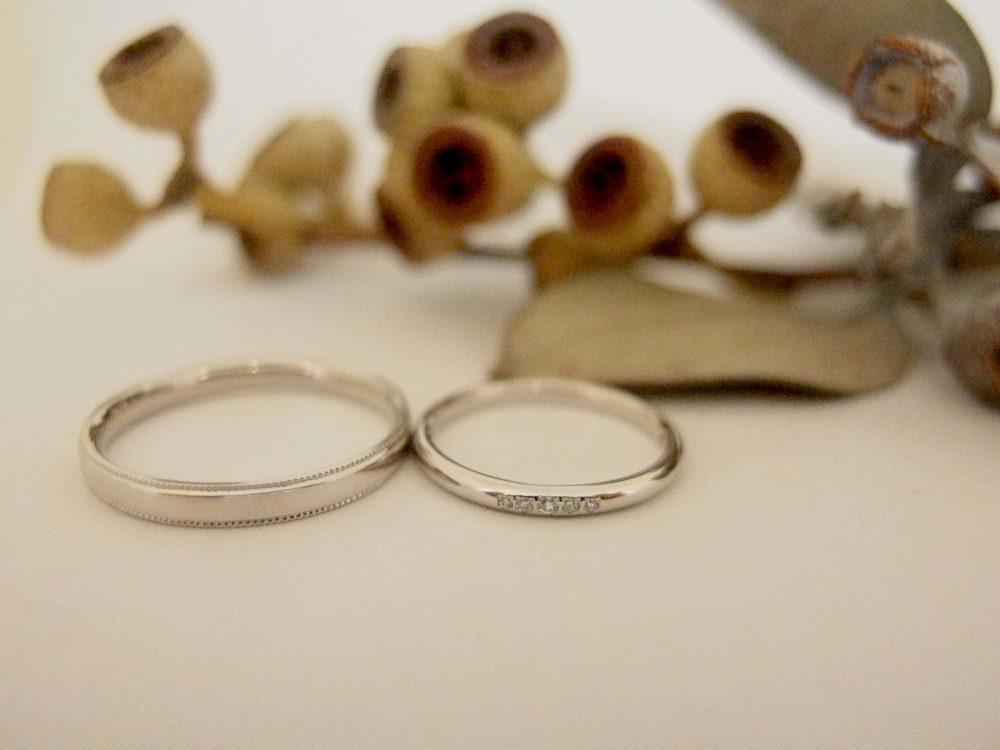 エルドーオリジナルのシンプルな結婚指輪『メリア』