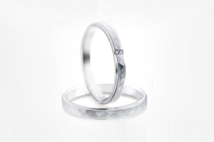 頑丈で、デザイナーがつくるシチズンの結婚指輪