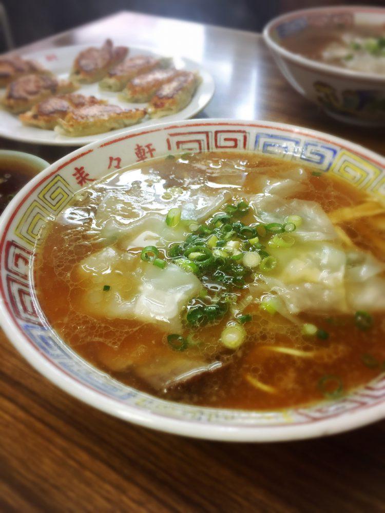 ラーメン(来々軒)in 三原市