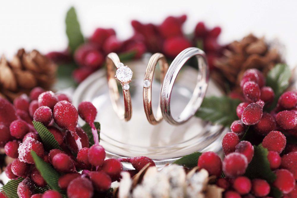 クリスマスに婚約指輪を贈ろう。