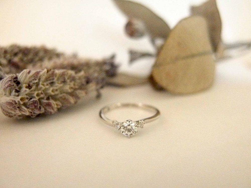 エルドーオリジナル婚約指輪『メリア』