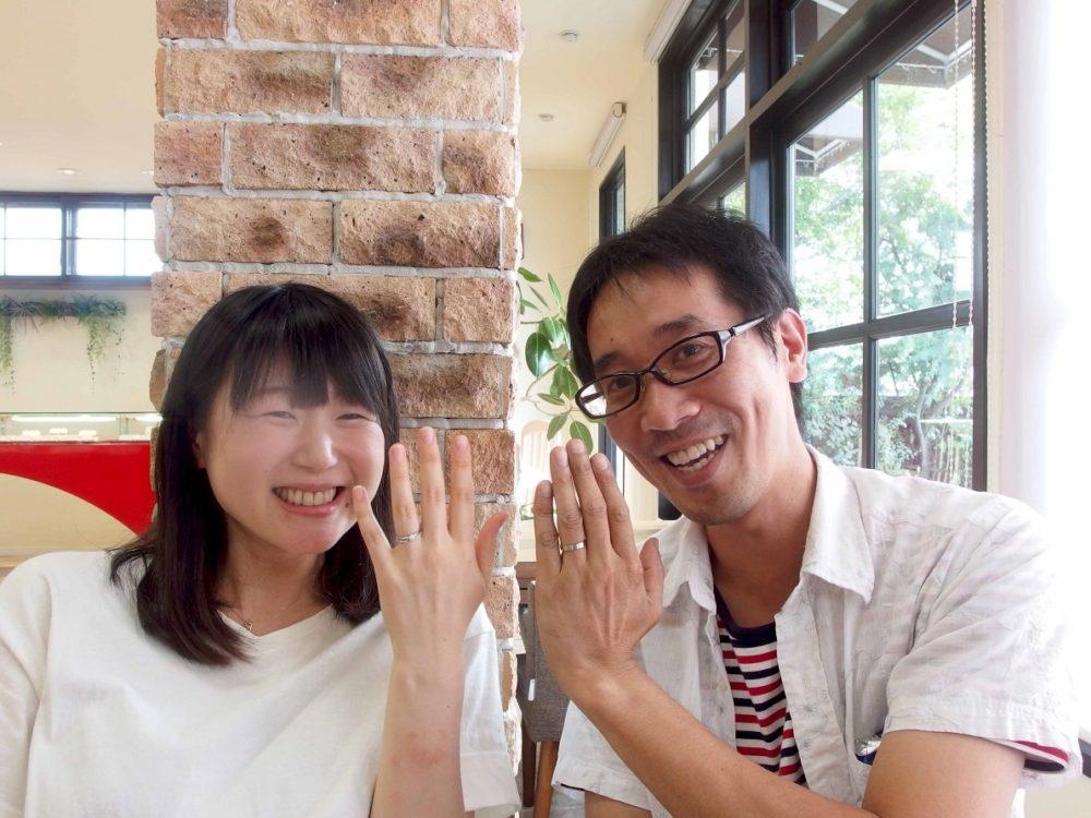 福山市新市町の小埜様ご夫妻(セットリングご購入)