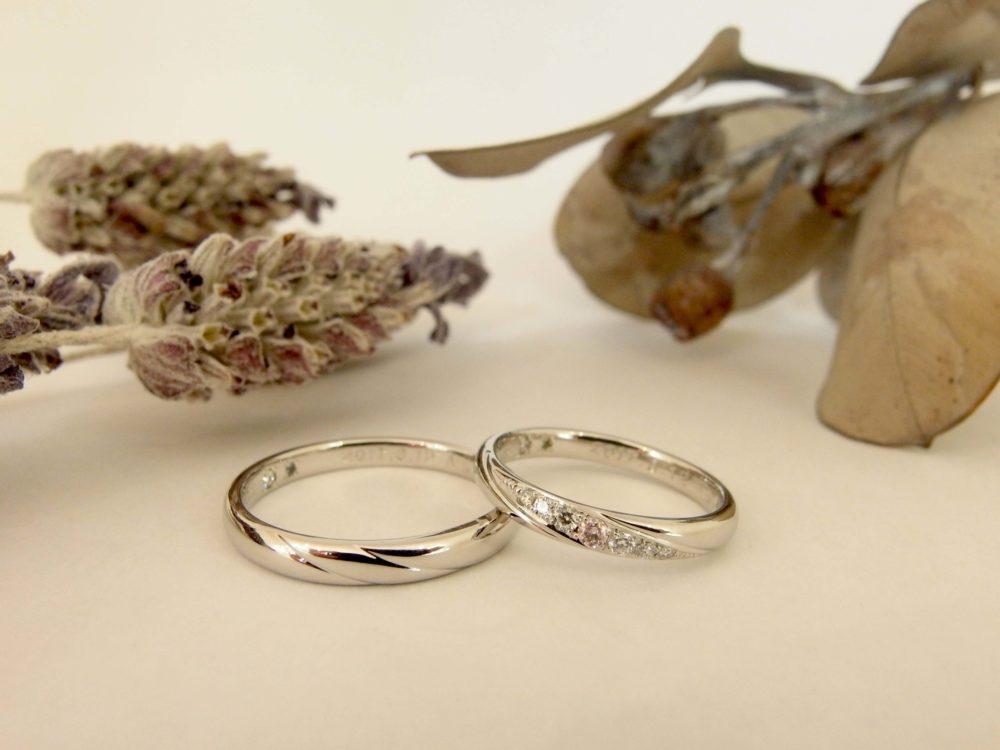 エルドーセレクトブランドの結婚指輪『ツインズキューピッド』