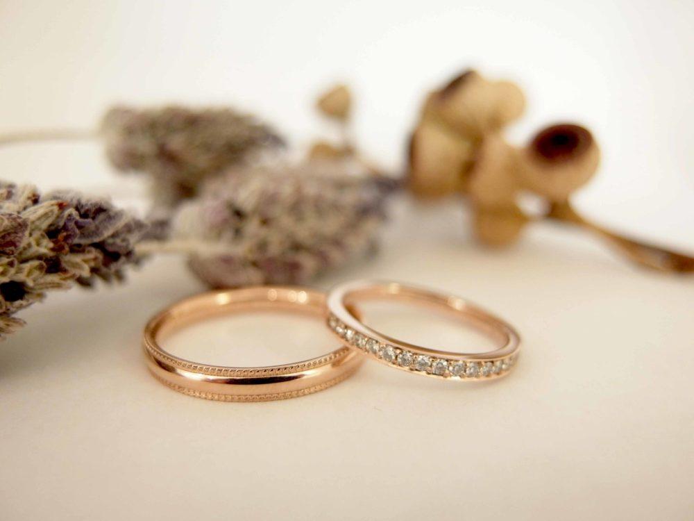 エルドーセレクトブランドの結婚指輪『ミルエタニティー』