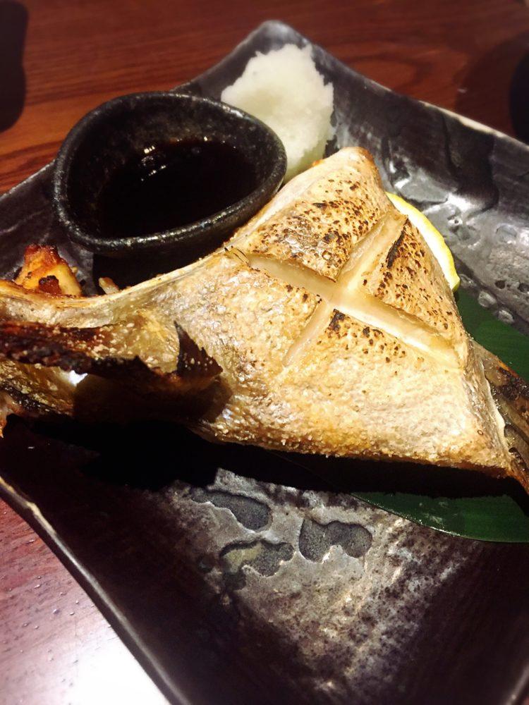 福山市の美味しい居酒屋の魚料理