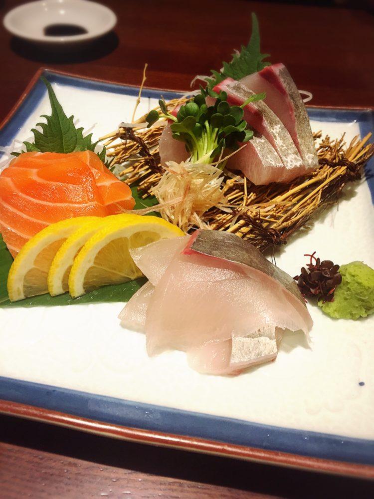 福山市の美味しい居酒屋の美味しい刺身