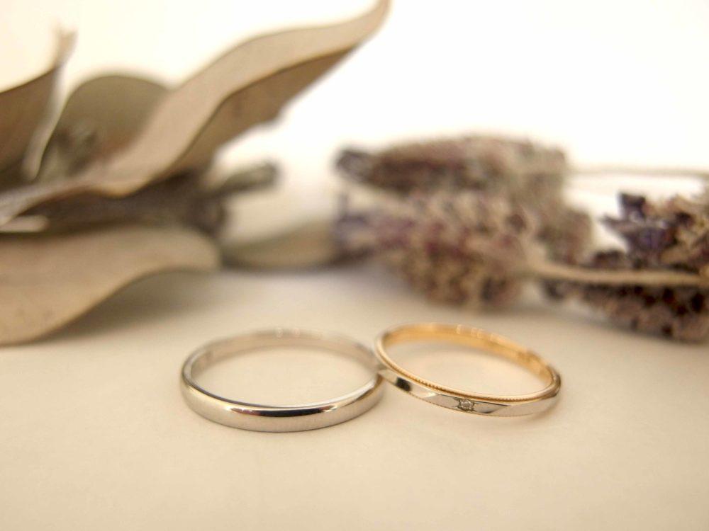エルドーセレクトブランド『ノクル』と『ルノア』の結婚指輪