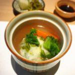 福山市神辺町の和食や滴水のかきしんじょう