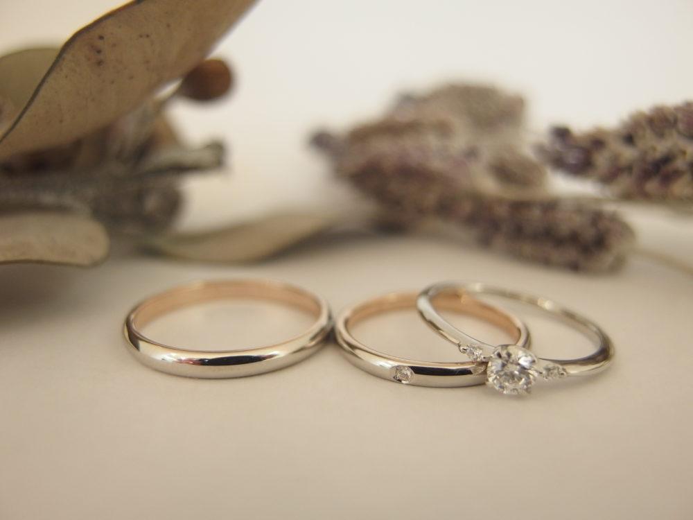 エルドーオリジナルの婚約指輪 セレクトブランドの結婚指輪「マリエ・マリ」