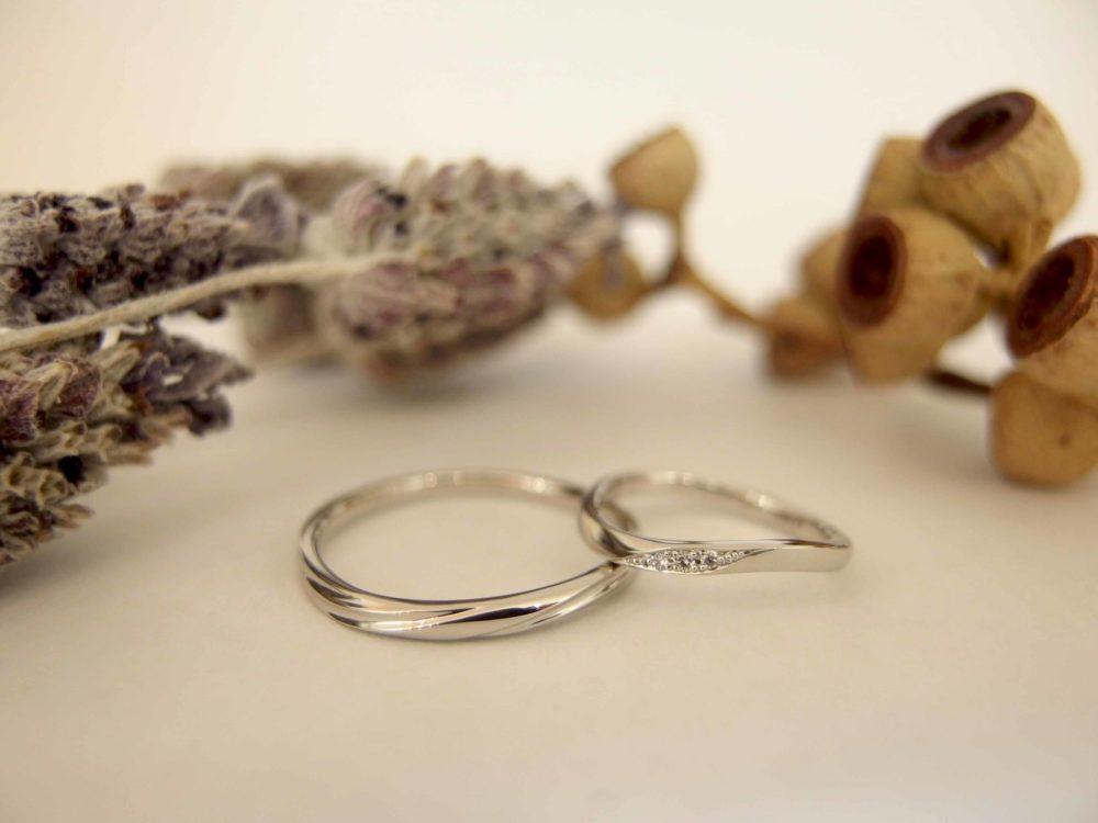 エルドーセレクトブランドの結婚指輪「マリエ・マリ」「ノクル」