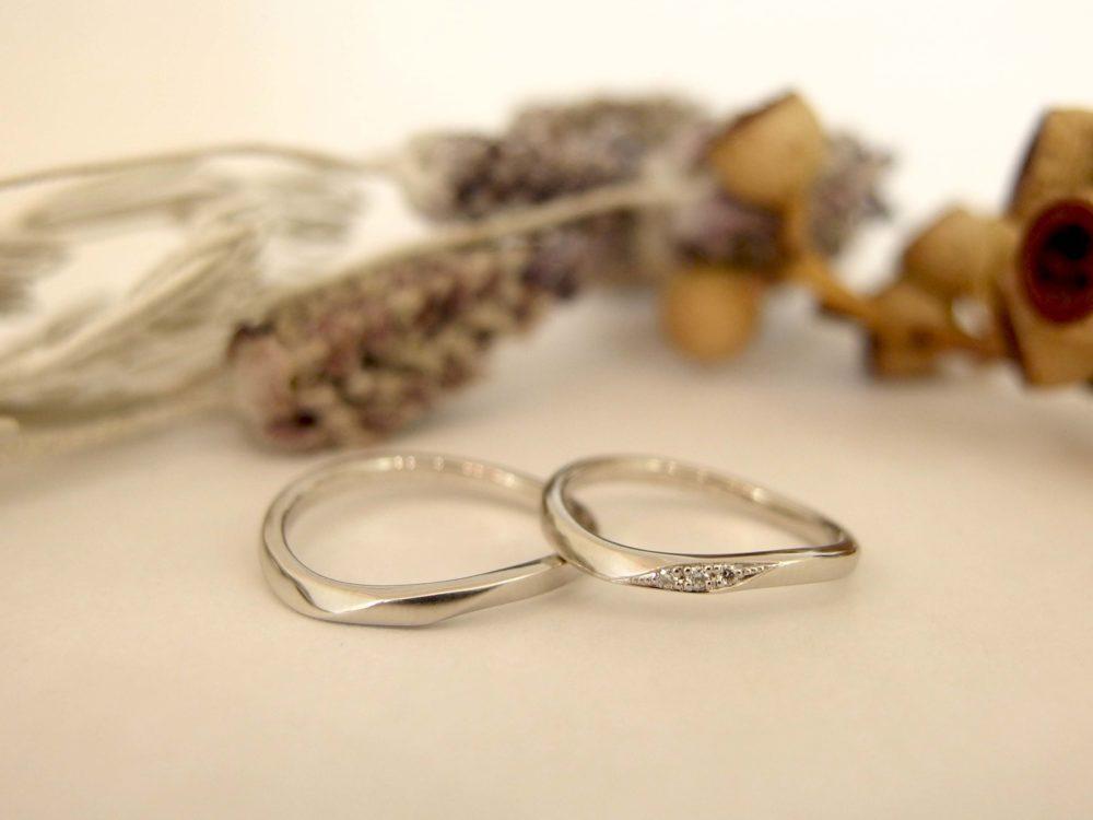 エルドーセレクトブランドの結婚指輪「マリエ・マリ」
