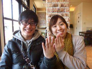 福山市鞆町の鳥住様ご夫妻(結婚指輪をご購入)