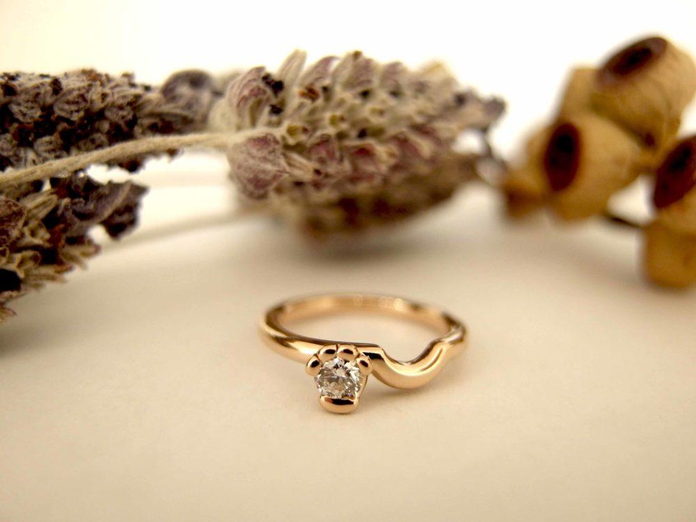 エルドーセレクトブランドの婚約指輪「アフラックス」