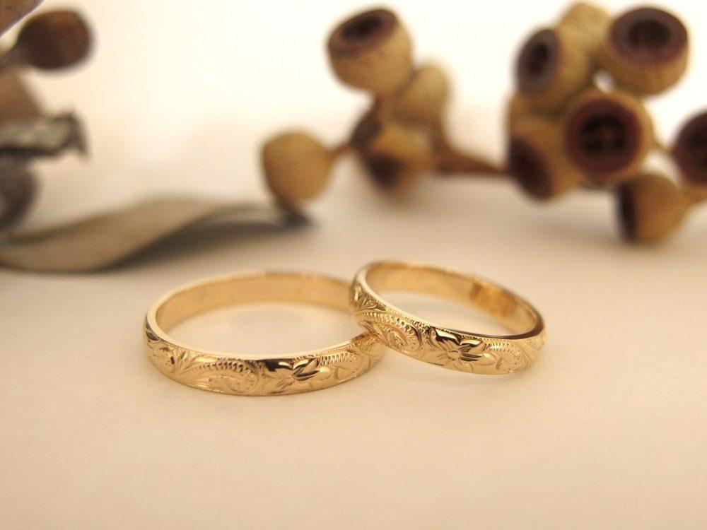 エルドーセレクトブランドの結婚指輪「カフナ」