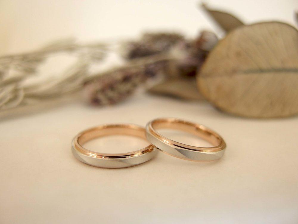 エルドーセレクトブランドの結婚指輪「ユキコハナイ」