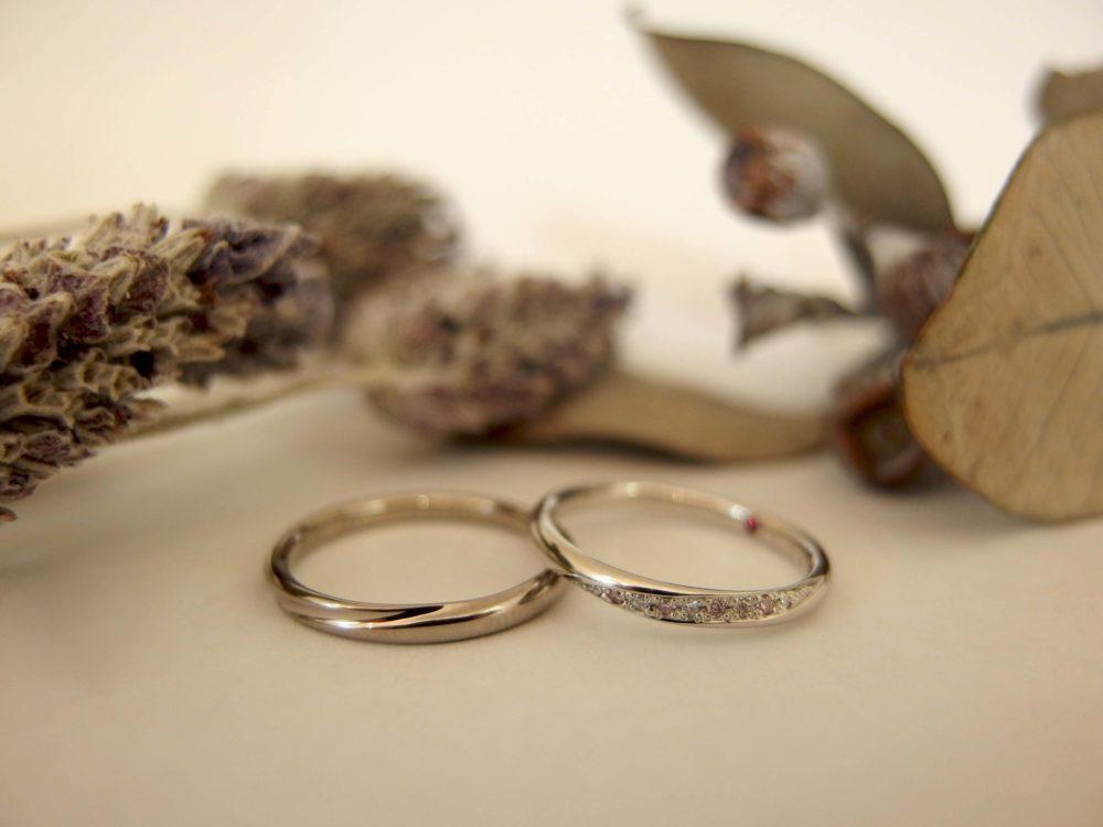 エルドーセレクトブランドの結婚指輪「アフラックス」