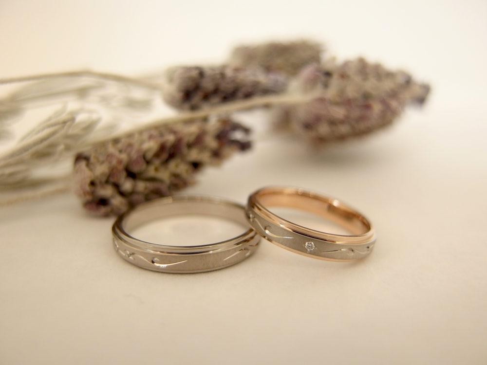 エルドーセレクトブランドの結婚指輪「ノクル」