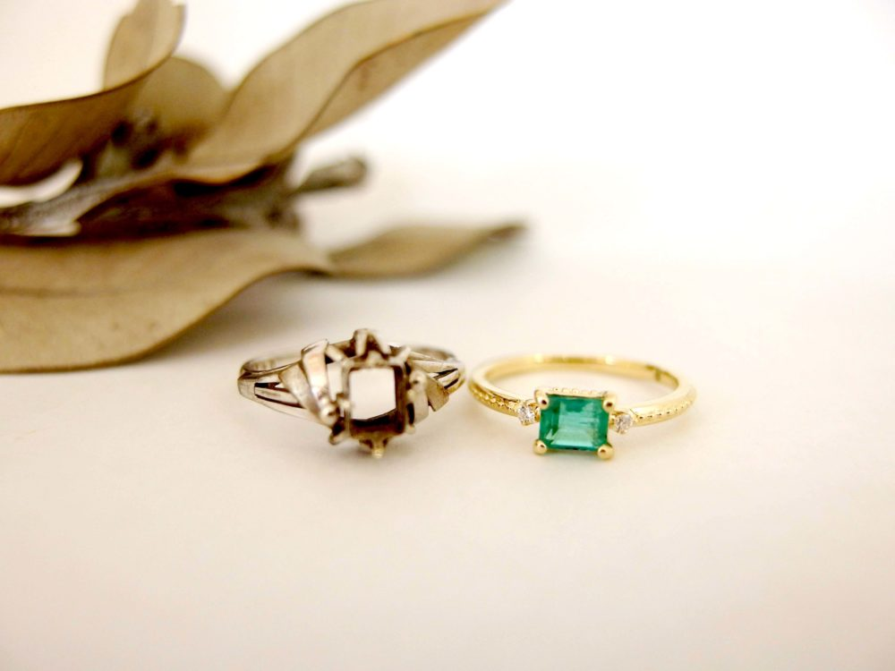 おばあちゃんからもらった形見の指輪が変身!