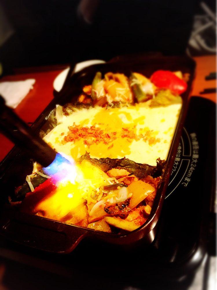 福山市の韓国料理専門店のチーズダッカルビ