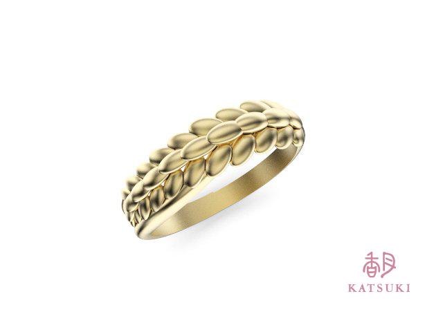 稲穂の婚約指輪のイメージCG