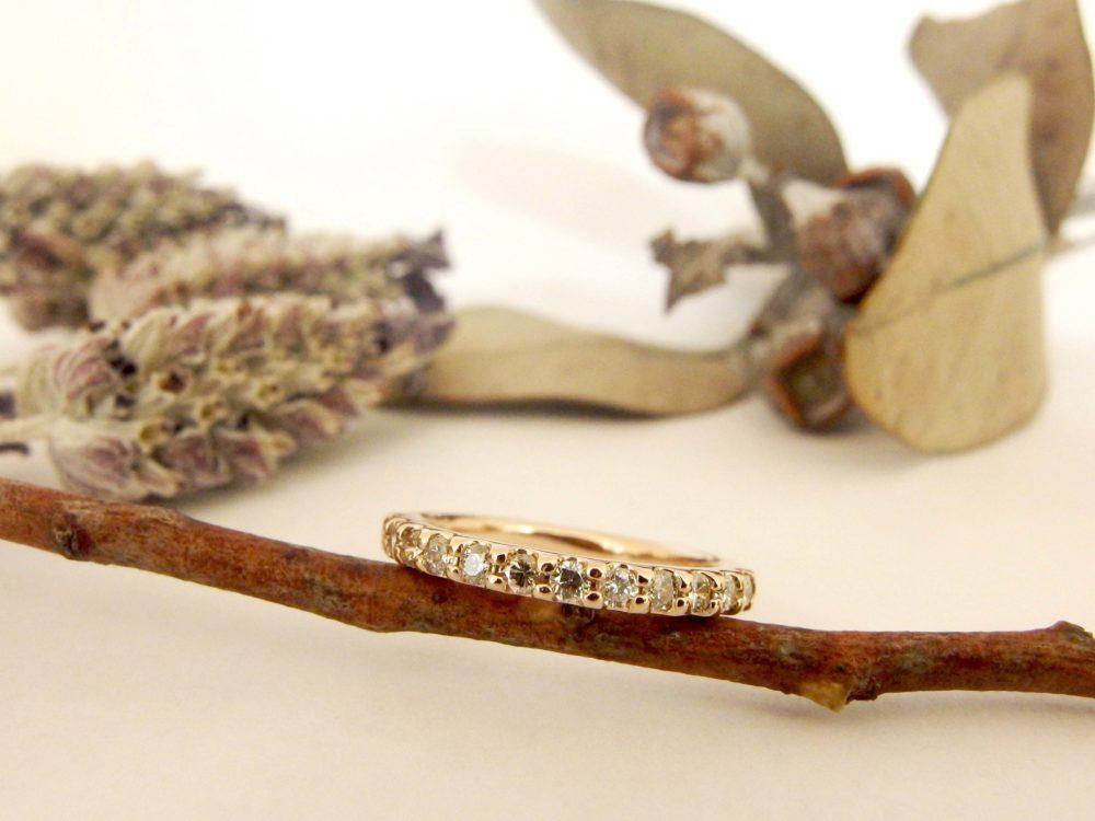 宝石箱の指輪が毎日つける指輪に。