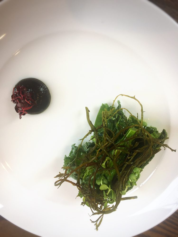 福山市春日町のあぶりのランチ旬な野菜の盛り合わせ